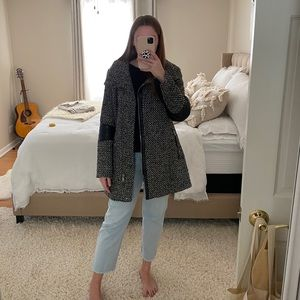 Calvin Klein Speckled Coat